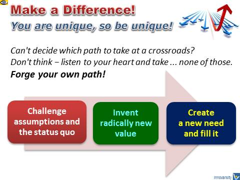 Make a Difference! Be Different Tips on How To Achieve Great Success