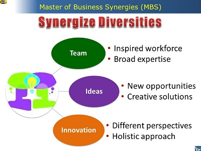 Synergize Diversities - Master of Business Synergies (MBS)
