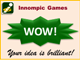 WOW cards - Innompic Games Creation Show, Assessment System