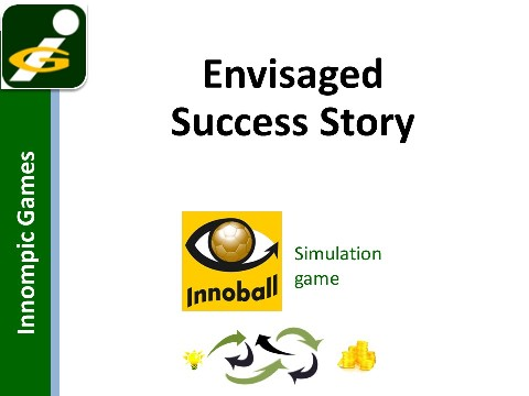 Startup Simulation Game INNOBALL - envisaged success story