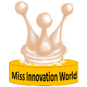 Miss Innovation World, Innompc Award design, Vadim Kotelnikov, Ksenia Kotelnikov