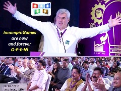 Innompic Games formal announcement India ISBA 2016