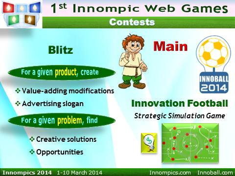Innompics 2014 - Innompic Web Games - Contests