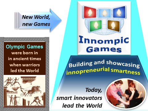 Innompics vs Olympics - Innompic Games vs Olympic Games