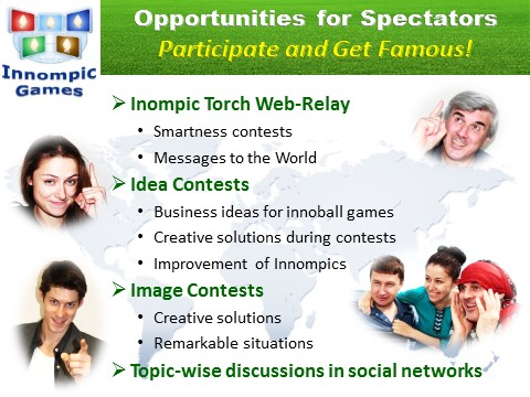 Innompics - Innompic Web Games - Participatioon Opportunities for Active Spectators, Actators