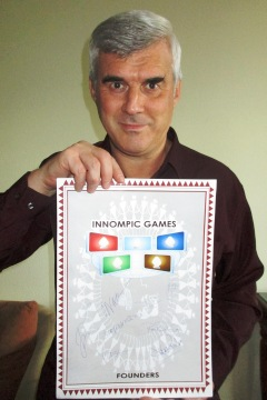Vadim Kotelnikov, Founder of Innompic Games, plaque