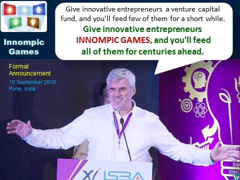 Vadim Kotelnikov: Give innovative entrepreneurs INNOMPIC GAMES, and you'll feed all of them for centuries ahead.