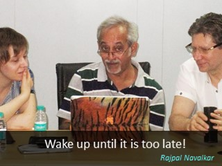 Rajpal Navalkar quotes Wake up until it's too late!