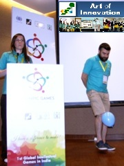 KoRe 10 Innovative Thinking Tools: BALLOON, 1st Innompic Games, Maga, Ksenia Kotelnikova, Russia team