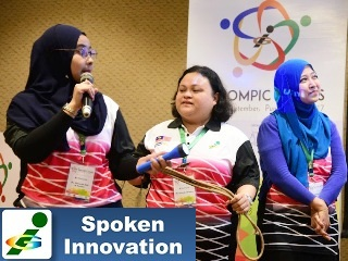 1st Innompic Games Malaysia Team presentation KoRe Innovative Thinking Tools torch rope