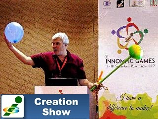 Vadim Kotelnikov, KoRe 10 Innovative Thinking Tools Balloon Brood, 1st Innompic Games training
