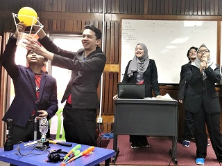 10 KITT Balloon KoRe 10 Innovative Thinking Tools Innompic Games Malaysia IPMA 2018