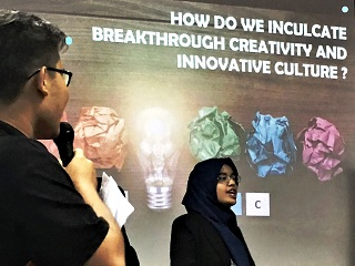 IPMA 2018 Malaysia University Innompic Games How to Inculcate Breakthrough Creativity and  Innovative Culture