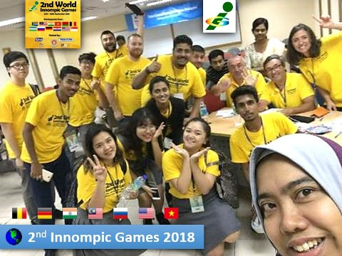 World Innompic Games 2018 UniKL Malaysia Fun Cross-cultural Unity Russia Vietnam India USA Germany Belgium