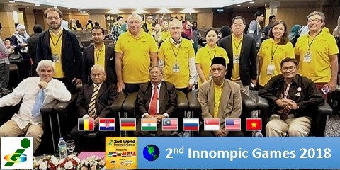 World 2nd Innompic Games 2018 Malaysia VIPs Jury Organisers Opening Ceremony inauguration