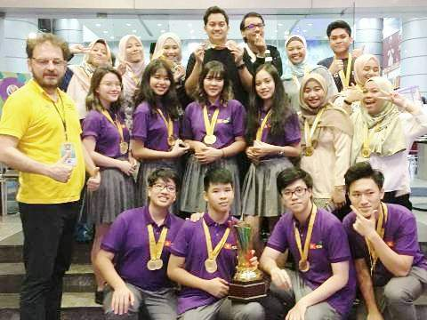 World 2nd Innompic Games 2018 Malaysia, Award Winners