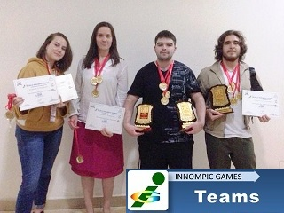 Best Russian innovators Russian Moscow team gold medals awards World Innompic Games 2019