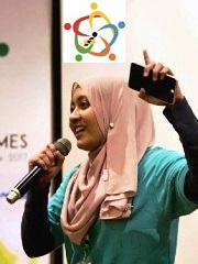 Farah Izzati,Malaysia, Miss Innovation World, Innompic Games, individual contests