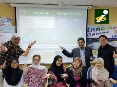 1st Innompic Training in Malaysia, IANA, Othman Ismail, Vadim Kotelnikov, Innovation Football, Innoball