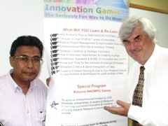 Master of Entreneurial Strategies, Innompic innovation training, Malaysia, Othman Ismail, Vadim Kotelnikov