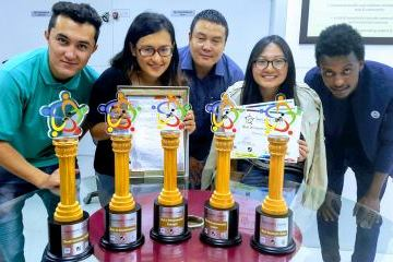 1st Innompic Games 2017 awards, Symbiosis International Students' Team