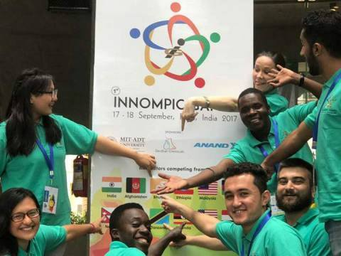 1st Innompic Games: Cross-cultural unity - International Team, Russia