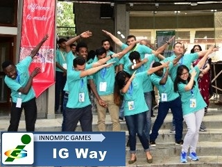 Innompics Fun: 1st Innompic Games International Team Maga hands directions