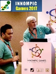 Best Innovation Guru Vadim Kotelnikov Rahuil More, 1st Innompic Games