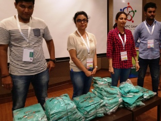 1st Innompic Games, Puja, Sonali, t-shirts