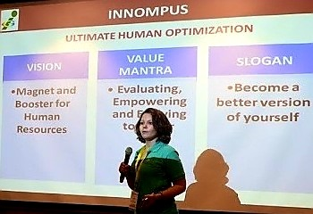 INNOMPIUS Russian invention World's Best Innovation City, 1st Innompic Games, Maria Kalyanova, Russia team
