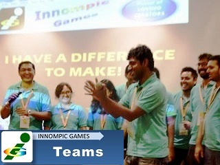 1st Innompic Games 2017 Pune India team singing