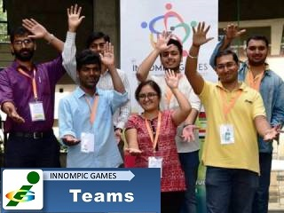 India innovation team, 1st Innompic Games 2017 Pune