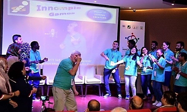 "Innompic Anthem ""I Have a Difference To Make!"", 1st Innompic Games 2017, India"