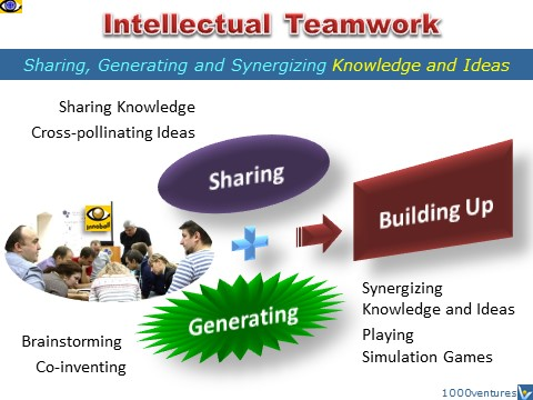 Intellectual Teamwork: sharing, generating, synergizing