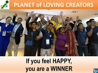 Happy Victors Innompic Games Planet of Loving Creators united innovators united nationals