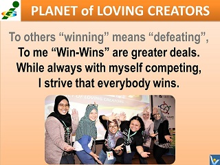 "Win-Win mindset Malayia Innompic Team anthem ""I Have a Difference To Make!"" lyrics"