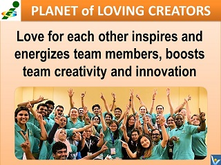 Passionate Team Innompic Planet of Loving Creators love for each other creativity innovation