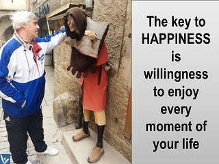 Happiness jokes funny picture Vadim Kotelnikov the key to happiness