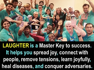 Laughter is a master key to success, joy and health Vadim Kotelnikov quotes Innompic Games