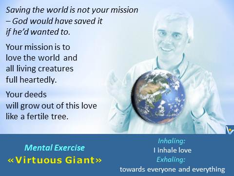 Message to the World on loving the World, Virtuous Giant, Innompic Games, Vadim Kotelnikov